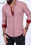Мужские рубашки длинный рукав RSK-3194