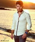 Мужские рубашки длинный рукав RSK-3210