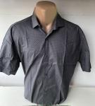Мужские рубашки короткий рукав - батал Б2036