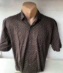 Мужские рубашки короткий рукав - батал Б2038