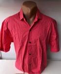 Мужские рубашки короткий рукав - батал Б2076
