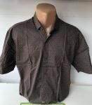 Мужские рубашки короткий рукав - батал Б2074