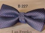 Классическая жаккардовая бабочка B-227