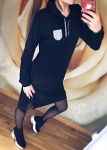 Женское спортивное платье-туника