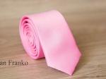 Однотонный узкий галстук