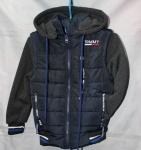 Детские демисезонные куртки трансформер 2-6 лет 0409-4