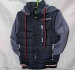 Детские демисезонные куртки трансформер 2-6 лет 0409-5