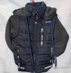 Детские демисезонные куртки трансформер 2-6 лет 0409-6