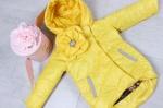 Детские демисезонные куртки р.104-134 45462-2