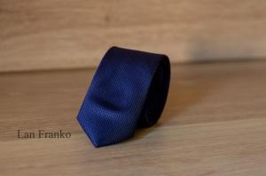 Узкий галстук жаккард 1755-7