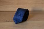 Узкий галстук жаккард 1755-8