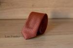 Узкий галстук жаккард 1801-3