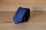 Узкий галстук жаккард 1801-4
