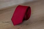 Узкий галстук жаккард 0820-2