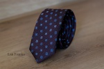 Узкий галстук жаккард 0820-4