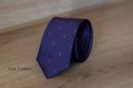 Узкий галстук жаккард 0820-6