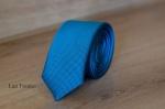 Узкий галстук жаккард 0820-7