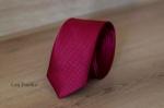 Узкий галстук жаккард 0820-9