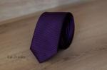 Узкий галстук жаккард 0830-5