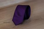 Узкий галстук жаккард 0830-6