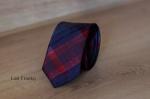 Узкий галстук жаккард 0830-7