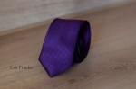 Узкий галстук жаккард 0830-8