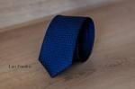 Узкий галстук жаккард 0830-9