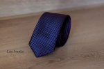 Узкий галстук жаккард 0840-2