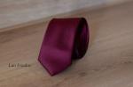 Узкий галстук жаккард 0840-3
