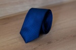 Узкий галстук жаккард 0840-5