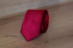 Узкий галстук жаккард 0840-6