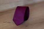 Узкий галстук жаккард 0840-7
