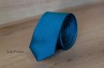 Узкий галстук жаккард 0810-5