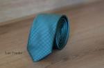 Узкий галстук жаккард 0810-6