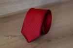 Узкий галстук жаккард 0810-7
