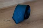 Узкий галстук жаккард 0810-8