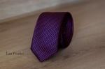 Узкий галстук жаккард 0810-9