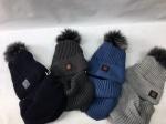 Комплект-шапка и хомут для подростков