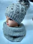 Женский комплект-шапка и шарф