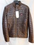 Мужская куртка кожзам 808-2