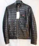 Мужская куртка кожзам 808-3