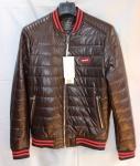 Мужская куртка кожзам 802-1