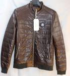 Мужская куртка кожзам 806-2
