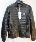 Мужская куртка кожзам 806-3