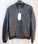 Мужская куртка кожзам 804-2