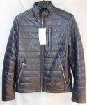Мужская куртка кожзам 801-2