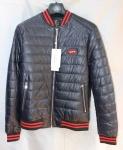 Мужская куртка кожзам 802-2