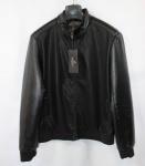 Мужская куртка кожзам 8712-A-1