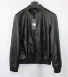 Мужская куртка кожзам K-19-1