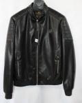 Мужская куртка кожзам K-21-1